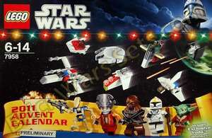 EXPIRED Lego Star Wars Advent Calendar@Argos £18.74 (25% off)