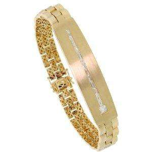 14ct Gold Rolex Link Style 8 in. Men's Bracelet - save £5,998.08 now  £4561.92 @ Amazon/shopperspride