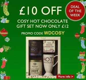 Cosy Hot Chocolate Gift Set £12 (Save £10) @ Whittards of Chelsea