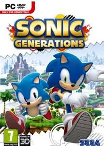 Sonic Generations (Pre-Order) (PC) - £13.99 Delivered @ Woolworths Entertainment