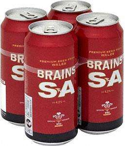 Brains SA Beer 4x440ml only £1.89 @ Lidl