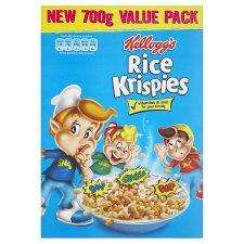 Rice Krispies better than half price 700g £1.60 @ Tesco instore and online.