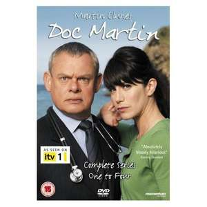Doc Martin: Complete Series 1 - 4 Box Set (8 Discs) £11.11 @ Play