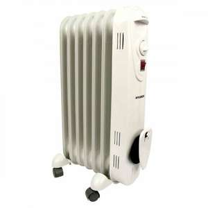 Hyundai Oil Filled Radiator 2000W £39.99 @ Poundstretcher