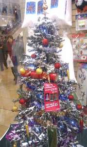 Snowing Christmas Tree - Rrp £100, Sale, £79.99 plus £5 free artificial snow! - [Instore] Birthdays Stores