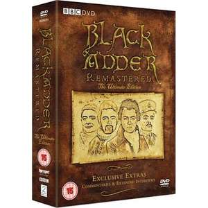 Blackadder: Remastered - The Ultimate Edition Box Set (6 Discs) (DVD) - £15 Delivered @ Tesco Ent + 8% Quidco + Clubcard points
