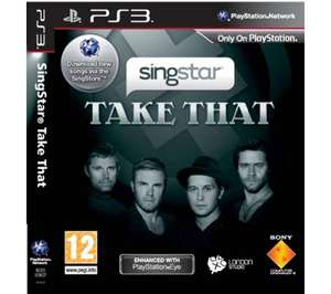 SONY Take That singstar - PS3 @ Currys. Was £19.99, now £7.97 (R+C only)