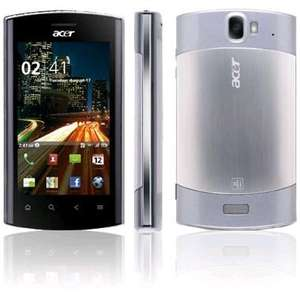ACER Liquid Metal, Android 2.3 £139.99, 5% quidco, back in stock @ Expansys