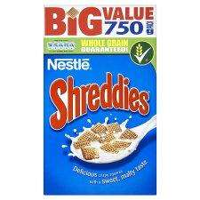 Shreddies 750g HALF PRICE at Tesco £1.37
