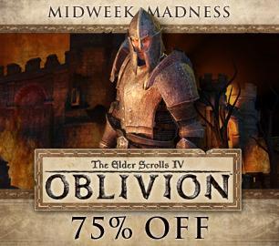The Elder Scrolls IV: Oblivion GOTY Edition £3.74 on Steam (PC)