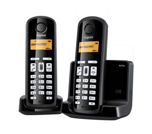 SIEMENS Gigaset AL110 Digital Cordless Phone - Twin Pack  £19.99 @ Currys