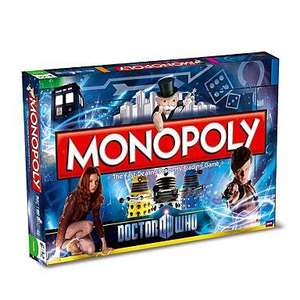 Doctor Who Monopoly from Debenhams £24