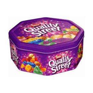 1kg quality street tins £4 at sainsburys