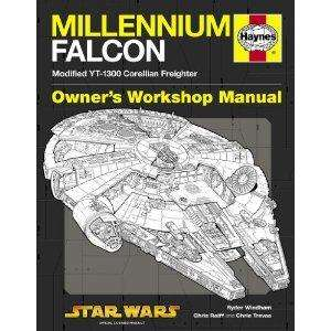 Millennium Falcon Manual: 1977 Onwards (Modified YT-1300 Corellian Freighter) (Owners Workshop Manual) [Hardcover]Amazon £7.50
