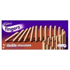 Cadburys Fingers 125gr Box 89p INSTORE @ Morrisons