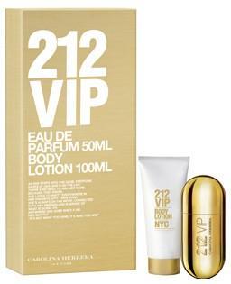 Carolina Herrera 212 VIP Eau De Parfum Gift Set 50ml @ Feelunique.com £35.80 delivered (with code) + 5% Quidco