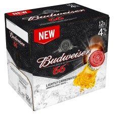 Budweiser 66 - 12 x 300ml Bottles £6 @ Tesco
