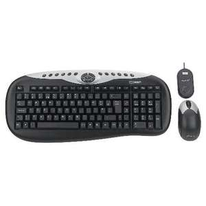 TECHNIKA WIRELESS KEYBOARD AND MOUSE REFURBISHED WITH A 12 MONTH TESCO OUTLET WARRANTY £11.97 @ Ebay/Tesco