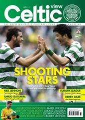 22 Issues of Celtic View magazine plus free match ticket for Celtic Vs Kilmarnock on Christmas Eve