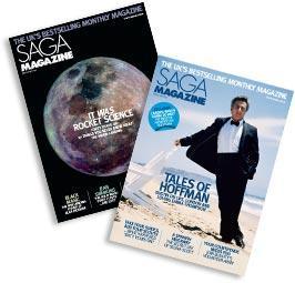 Saga Magazine 3 years for £7.95 post free