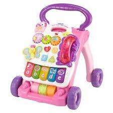 Vtech Pink Baby first steps walker - £10 instore @ Asda