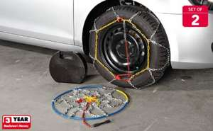 Snow Chains - Set of 2 £19.99 @ Lidl from Monday 28th
