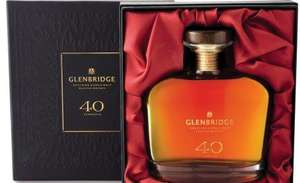 Glenbridge Whisky 40 Year old £49.99 @ Aldi Should be £300