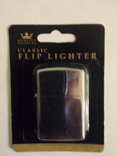 Zippo 'Style'  Polished Chrome Lighter £1 @ Poundland