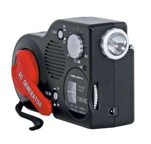 BUSH WIND UP RADIO WITH BUILT-IN TORCH NEW £11.98 @ Argos Ebay