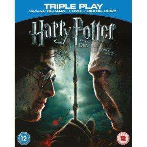 Harry Potter And The Deathly Hallows Part 2 - Blu Ray/Triple Play - Pre Order £12.72 @ Amazon