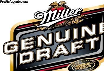 Miller Genuine Draft - 12 Pack (Bottles) - £8.00 in store @ Morrisons