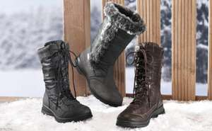 Ladies and Mens Winter boots £16.99 @ Lidl