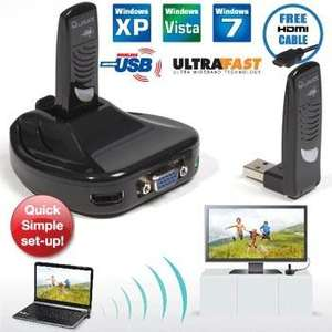 Wirelessly Stream Your Laptop to Your TV in  HD -£49.89 delivered  @ Dealtastic RRP 99.99 but unsure how true