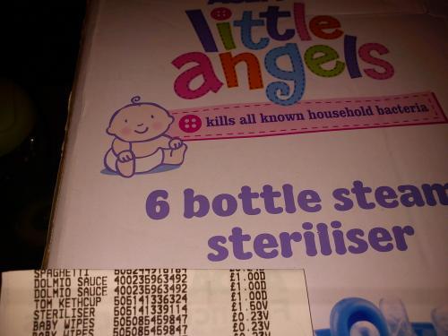 Little Angel's Steam Steriliser £1.50 @ ASDA INSTORE  ( STILL £23.00 ONLINE)