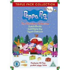 Peppa Pig Christmas Collection Triple Pack only £6.35 @ Amazon!