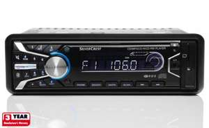 Silvercrest in-car CD player w/ Bluetooth handsfree, USB, SD, Aux - £49.99 @ LIDL