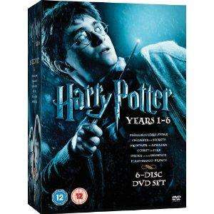 Harry Potter Collection: Years 1-6 (DVD) for £14.95 @ Zavvi/The Hut (+3% TCB/Quidco cashback)