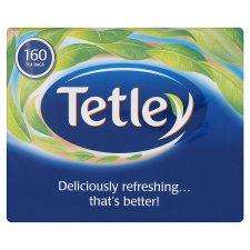 Tetley Softpack 160 Teabags 500G buy 1 get 1 free @ tesco (320 bags for 388p)