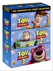 Toy Story 1-3 DVD Collection Box Set - £9.00 @ Tesco Entertainment