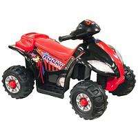 40% off electric ride-ons at Halfords. Kids quad bike £29.99