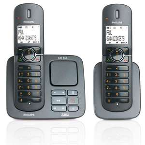 PHILIPS CD5652 TWIN DIGITAL CORDLESS ANSWER PHONE Mfr refurb £19.99 at telephonesonline on ebay
