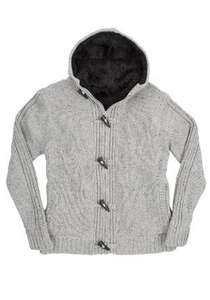 F&F Fur lined mans chunky knit cardigan was £35 now £10 collect from Tesco store