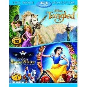 Tangled/Snow White [Blu-ray] Boxset £17.99 @ Amazon