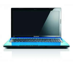 "LENOVO Ideapad Z570 15.6"" with 2nd gen i5 Laptop Blue - Currys £379.97"