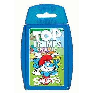 The Smurfs Top Trumps @ Amazon