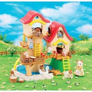 Sylvanian Families Baby Fairground House half price £29.99 @ Argos
