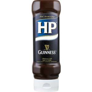 H.P. Sauce Guinness Flavoured  £0.50 at  Asda