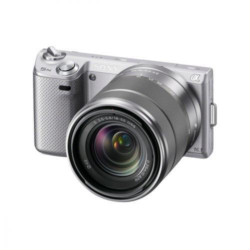 Sony Alpha NEX-5N Silver + 18-55mm Lens - £429.99  Amazon