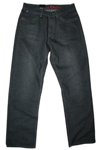 Pierre Cardin men's 100 regular fit vintage black jeans @ Amazon TogOut