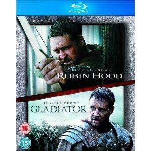 Robin Hood / Gladiator [Blu-Ray - double pack] - £8.97 @Amazon